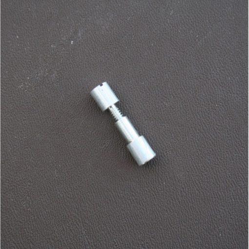 Handtagsskruv - dold till knivhandtag stängd
