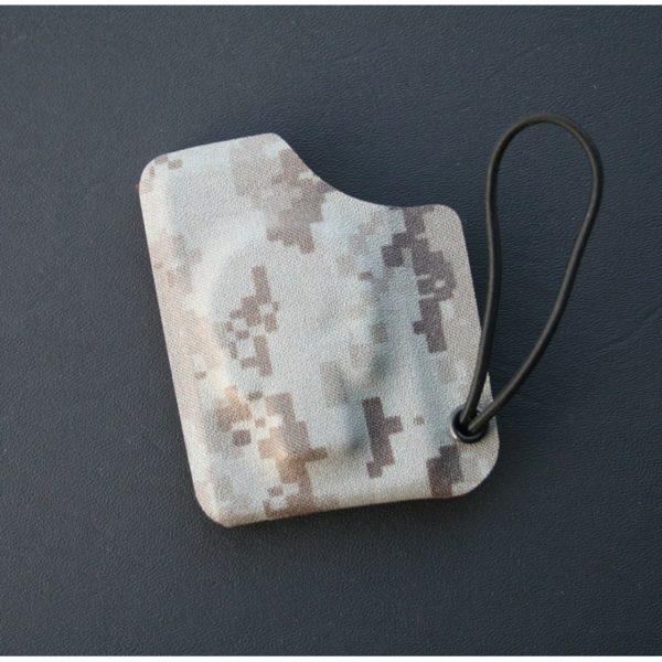 Kydexplånbok Döskalle Desert Digital Camo utan snodd