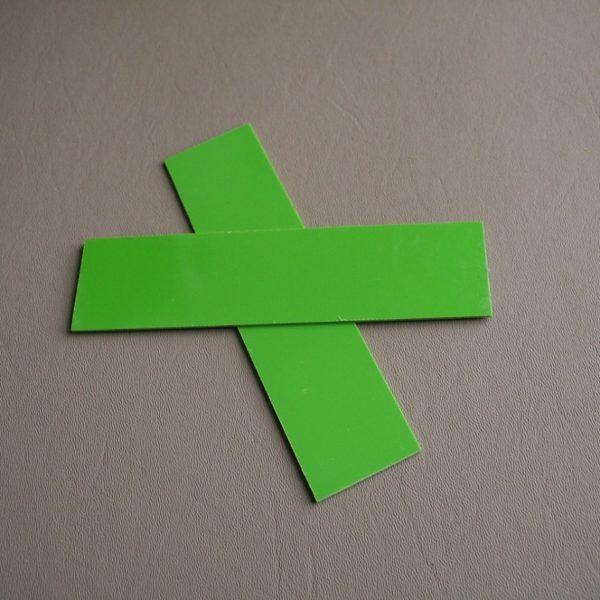 1,5 mm Liner G-10 Neongrön