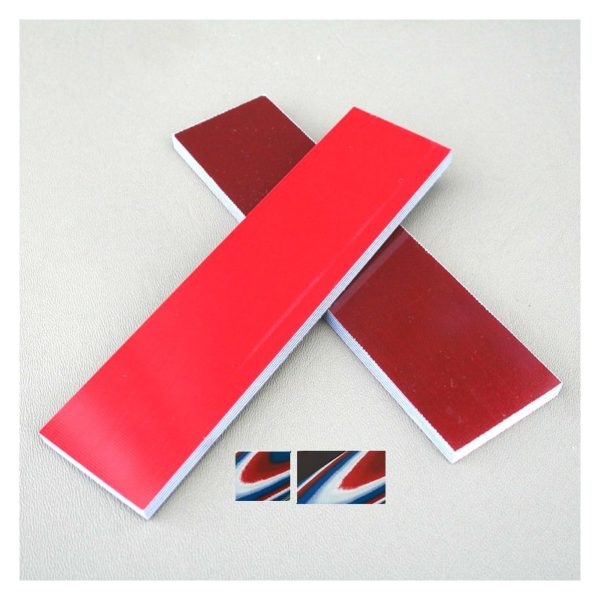G-10 handtagsmaterial Röd/vit/blå