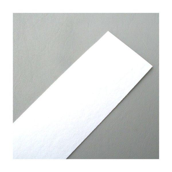 0,8 mm Liner Vulkanfiber vit