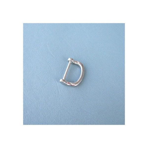 D-ring Nickelfri Silverfärgad 2 cm