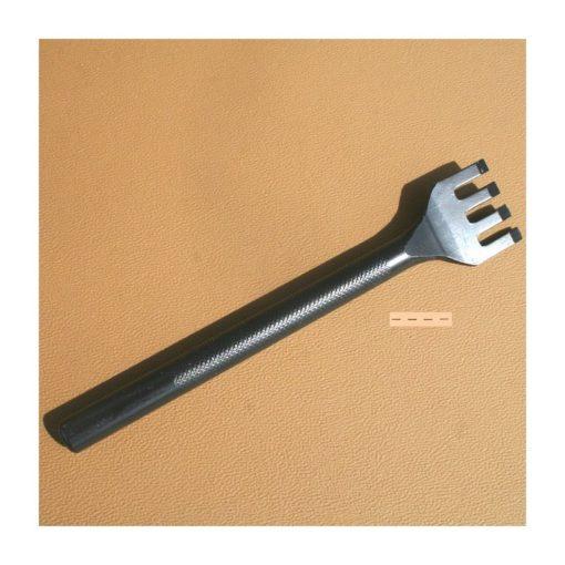 Gaffel Avlång 3 mm 4 tänder
