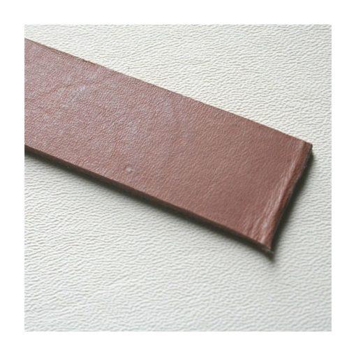 2,5-3 mm Läderrem brun