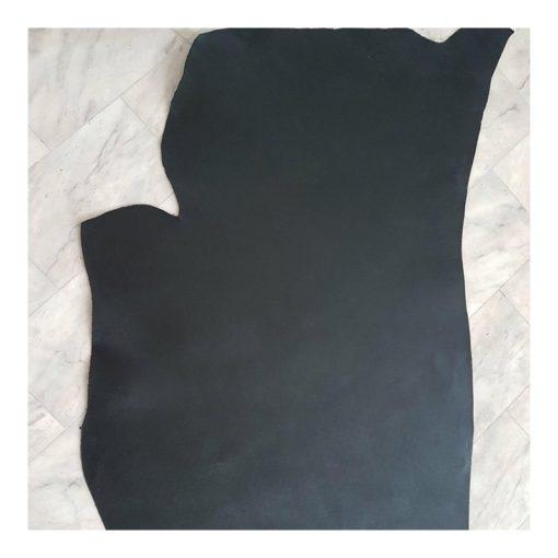 2-2,5 mm Läder Svart Halv hud