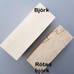 Jämförelse mellan Björk och Rötad björk
