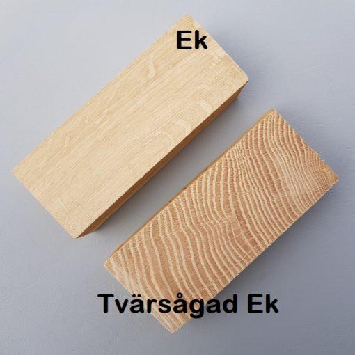 Jämförelse mellan Ek och Tvärsågad ek