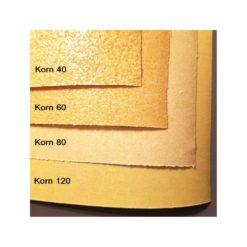 Sandpapper jämförelse 4 grovlekar