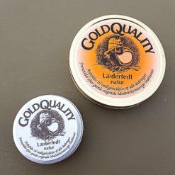 Läderfett från Gold Quality i två olika storlekar