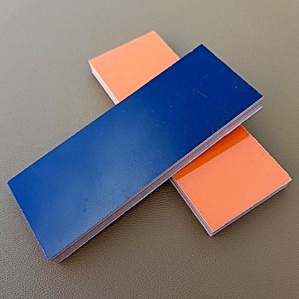 6 mm G-10 Orange/Svart