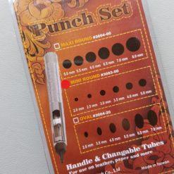 Hålpipor set 2-5 mm förpackningsbaksidan