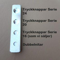Knapp- och dubbelnitverktyg Förklaring