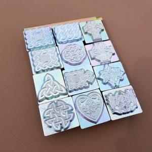 Keltiskt punsset med 12 punsar