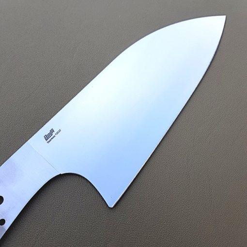 Knivblad Fulltånge Kökskniv Chef 160 närbild
