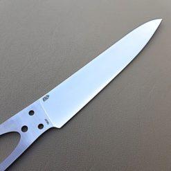 Knivblad Kökskniv Enzo Carver närbild