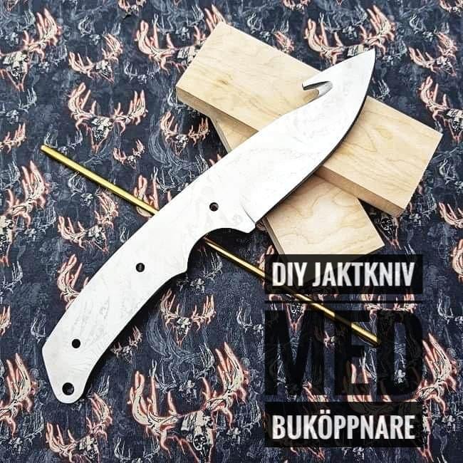 DIY Jaktkniv med buköppnare - tips på material