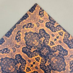 Kydexark med motivet Mountain Viper Orange