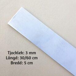 3 mm Knivstål av X50CrMoV15 Rostfritt stål
