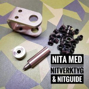 Nita Kydex med Nitverktyg och Nitguide