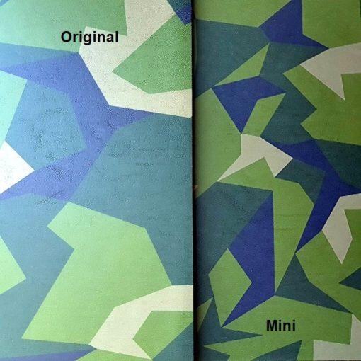 Jämförelse mellan original och mini M90 Camo Kydex
