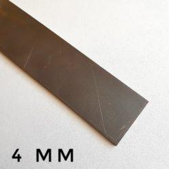 Smid ditt egna knivblad av Knivstål N690 Rostfritt stål 4 mm