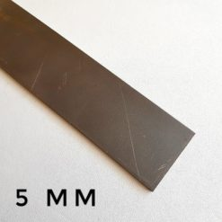 Knivstål N690 Rostfritt stål 5 mm i två olika storlekar