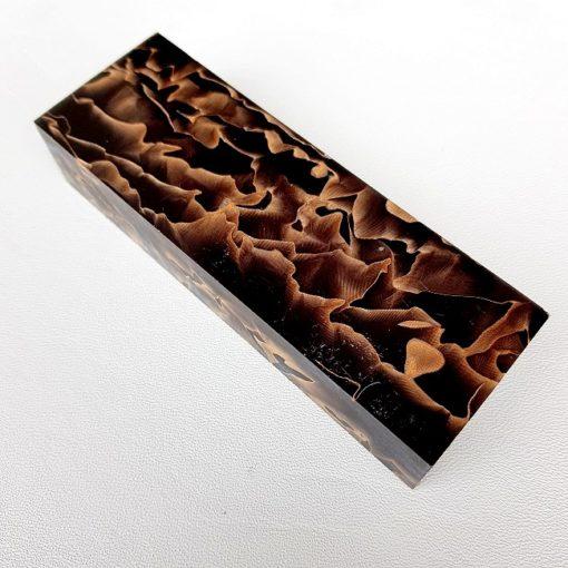 Noble Black Waves Brons Knivskaft av kompositmaterial