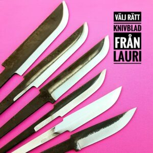 Välj rätt knivblad från Lauri