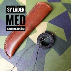 Sy läder med Skomakarsöm