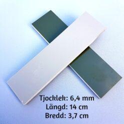 Knivskalor 6 mm G-10 Olivgrön/Beige