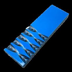 2-pack knivskalor av 6 mm Svart/Blå G-10