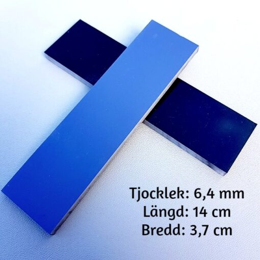 Knivskalor 6 mm G-10 Svart/Grå