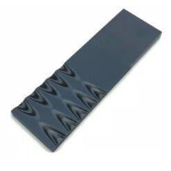 Slipat knivskaft 6 mm G-10 Svart/Grå